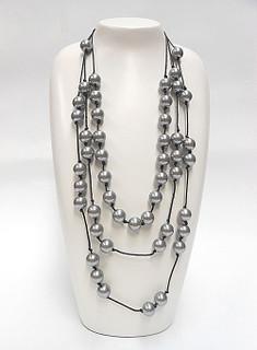 Women's Jewellery Online Australia | FN2576S Silver Bulb Necklace | FAB