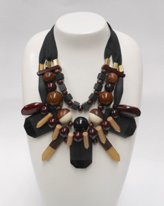 Women's Jewellery Online | FN2920 Chunky Tribal Necklace | FAB