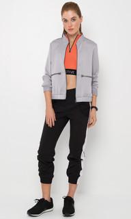 Women's Jackets | Dakota Luxe Metallic Bomber Jacket | M ACTIVE