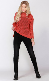 Women's Top Online   Lohan Crew Knit   SASS