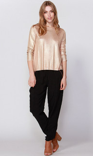 Women's Top Online | Demi Foil Knit | FATE