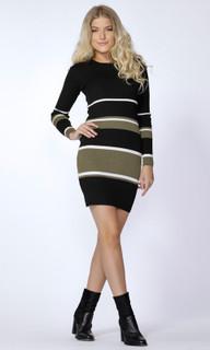 Women's Dresses Online Australia | Stripe Bodycon Dress | SASS