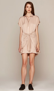 Dresses in Australia | Camel Shirt Dress | AMELIUS