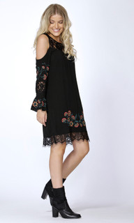 Women's Dresses Online Australia | Indiana Floral Emb Dress | SASS