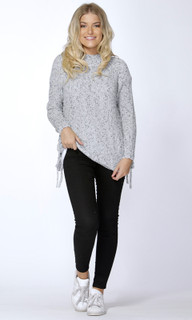 Women's Tops Online Australia | Angeline Side Tie Jumper | SASS