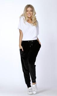 Women's Pants Online Australia | Callie Velvet Jogger | SASS
