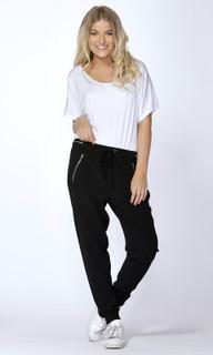 Women's Pants Online Australia | Finley Zip Trim Jogger | SASS