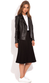 Women's Jakets Online Australia | Aviator Leather Jacket | WISH