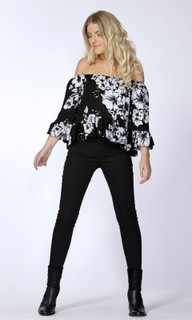 Women's Tops | Hattie Flutter Blouse | SASS