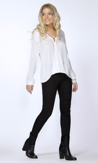 Women's Blouses | Marisa Cross Over Blouse | SASS