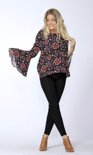 Women's Blouses Australia | Tash Cross Back Blouse | SASS