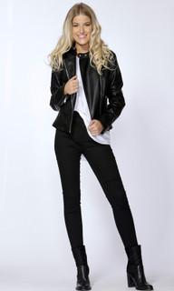 Women's Jackets | Roxeanne Biker Jacket | SASS
