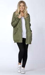 Women's Jackets Online Australia | Sariah Longline Bomber | SASS