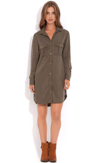 Women's Tops Online Australia | Officer Shirt Dress | WISH