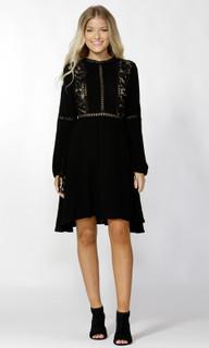 Women's Dresses   Rossella Lace Insert Dress   SASS