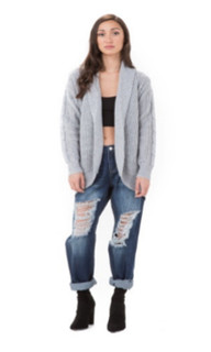Women's Tops Online | Twisted Cardi | AMELIUS