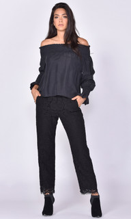 Women's Tops | Matisse Silk Blouse | FATE