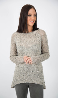 ONLINE JUMPERS FOR WOMEN | Sequin Hi Lo Jumper | ICE EXPRESS