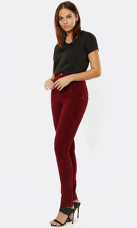 Women's Pants  | High Waisted Ponte Pant | PIZZUTO
