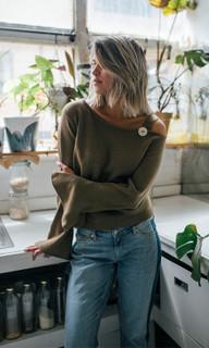 WOMEN'S KNITS ONLINE   Otis Knit Top   LIVINGSTONE COOPER