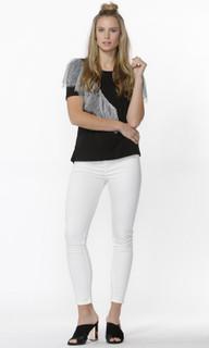 Women's Tops Online | Livinia Lace Trim Tee | SASS