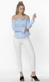 Women's Tops Online | Wylie Cutaway Shirt | SASS