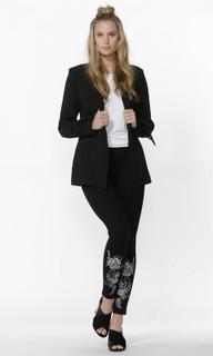 Ladies Tops Online | Jed Tie Sleeve Longline Blazer | SASS