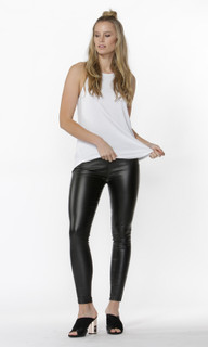 Women's Pants Online | Kyara Coated Pants | SASS