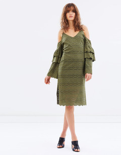 Women's Dresses | Cecil Midi Dress | LIVINGSTONE COOPER