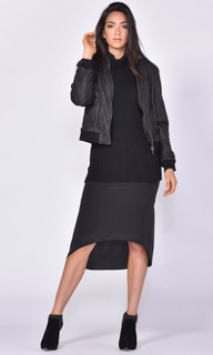Ladies Jackets Online Australia | Windsor Leather Bomber | FATE + BECKER