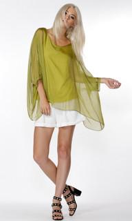 Ladies Tops Online Australia  | Adeline Silk Blouse | FATE+BECKER