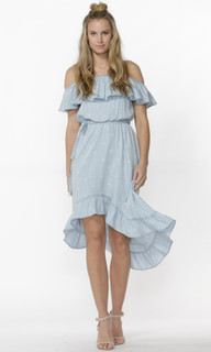 Women's Dresses Australia | Starstruck Chambray Dress | SASS