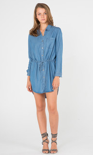 Ladies Dresses Australia | Notion Chambray Dress | AMELIUS