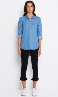 Ladies Tops Australia | EM923 Luca Shirt | ELLY M