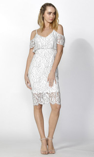 Ladies Dresses | Clemence Corded Lace Dress | SASS