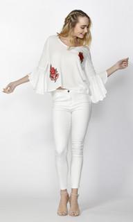 Women's Tops Online   Roselia Bell Sleeve Blouse   SASS