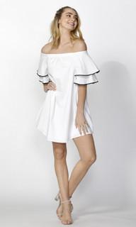 Women's Dresses Online | Felicia Ruffle Sleeve Dress | SASS