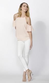 Women's Tops Online   Romana Ruffle Sleeve Blouse   SASS