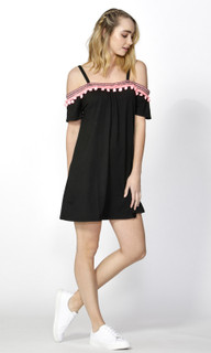 Women's Dresses | Ada Pom Pom Trim Dress | SASS