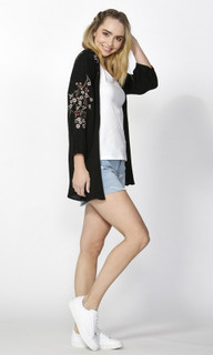 Women's Jackets Online   Noa Floral Kimono Jacket   SASS