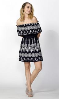 Ladies Dresses | Tasha Off Shoulder Dress | SASS