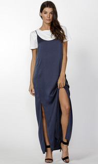 Women's Dresses Online | Amabel Silk Maxi | FATE + BECKER