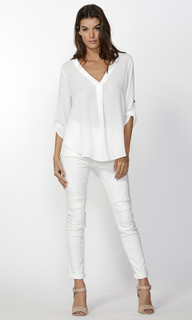 Women's Tops | Freda Blouse | FATE + BECKER