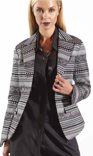 Women's Jackets Online | Back Peplum Jacket | Carbon 12