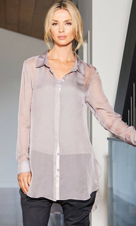 Women's Top Online | Button Up Shirt | Carbon 12