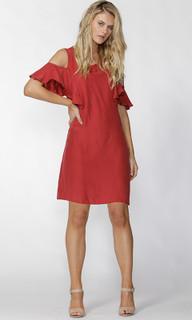 Ladies Dresses Online | Darinna Cold Shoulder Dress | FATE + BECKER