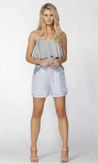 Ladies Shorts Online | Sea Silver Short | FATE + BECKER