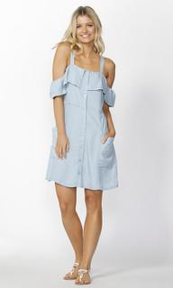 Women's Dresses Online | Alexi Button Down Dress | SASS