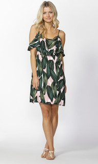 Ladies Dresses Online | Palm Spring Ruffle Dress | SASS