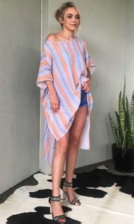 Women's Dresses Online   KL320 Top in Orange   KIIK LUXE